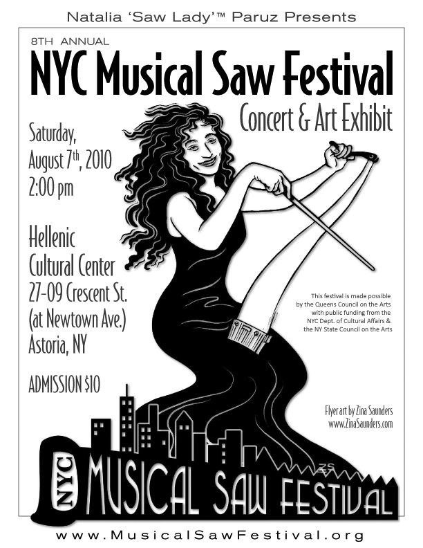 Musical Saw Festival poster