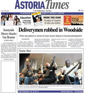 Musical saw festival in Astoria Times