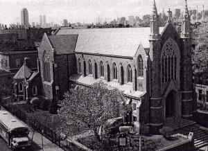 Church where the NYC Musical saw Festival takes place