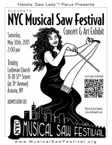 Musical Saw Festival flyer