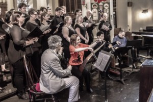 Astoria Choir at Musical Saw Festival